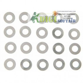 Lonex Shim Set  0,1 e 0,2mm