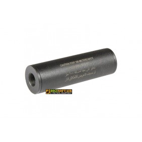 """30x100 """"Stay 100 meters back"""" Covert Tactical PRO silencer replica 09-019861"""