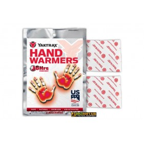 Yaktrax hand warmers 8h duration