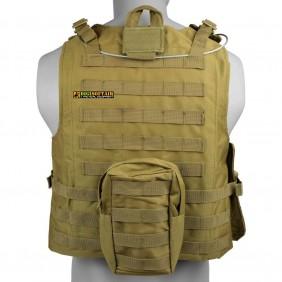 ROYAL Tactical vest Tan VT-1104T