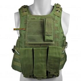 ROYAL Tactical vest Olive drab VT-1104V