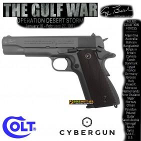 Colt 1911 A1 The Gulf War Co2 Blowback full metal Cybergun