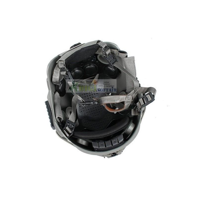 ELMETTO FAST EXF Bump Helmet FMA nero