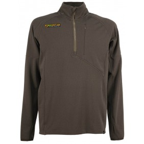 Half Zip Light Fleece Coyote   4-14 Factory