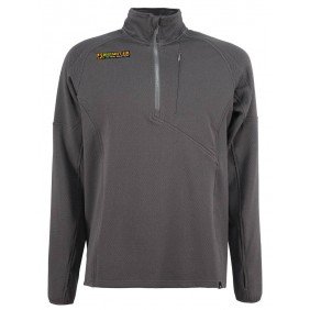Half Zip Light Fleece Wolf grey 4-14 Factory
