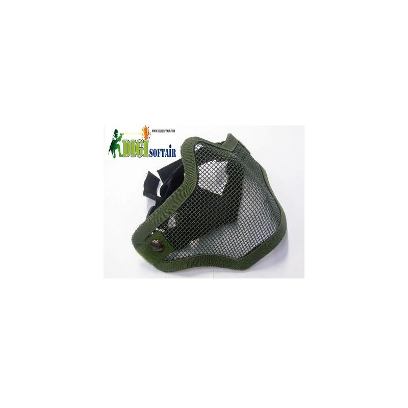 MOD strike mask for mouth and nose with a safety net royal