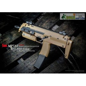 HECKLER & KOCH MP7 A1 RAL8000 GBB by VFC