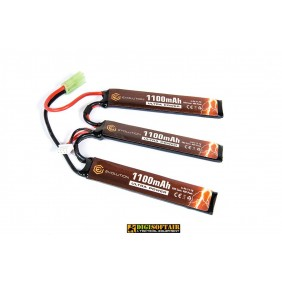 Evolution Li-Po Ultra Power 11.1V 1100mAh 20C - 40C 3 x mm