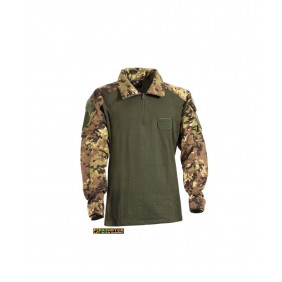 Cotton Tactical combat shirt  Italian Camo