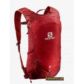 Red chili / rd dahlia / ebony Salomon backpack TRAILBLAZER 10