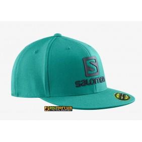 Salomon Logo Cap FlexFit Pacific LC1535600