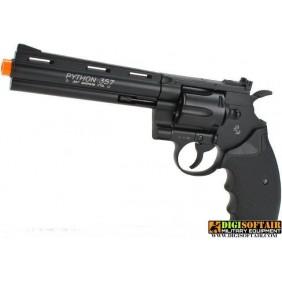 "REVOLVER Colt PYTHON 357 6"" BLACK CO2 FULL METAL"