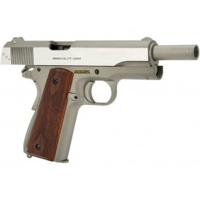 copy of Swiss Arms 1911 Military Rail Pistol Tan Co2 Cal 4,5