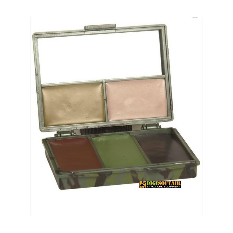 Woodland Camo Face Paint 5 colors SET Miltec 16352000