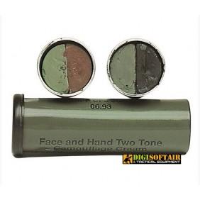 British Black OD Camo Face Paint Miltec 16337000