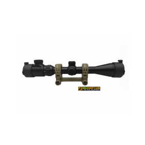 Dragonfly 3-9x40 Riflescope with easy fit dark earth connection