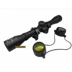 DRAGONFLY Rifle scope 4X32 with scaled cross reticle