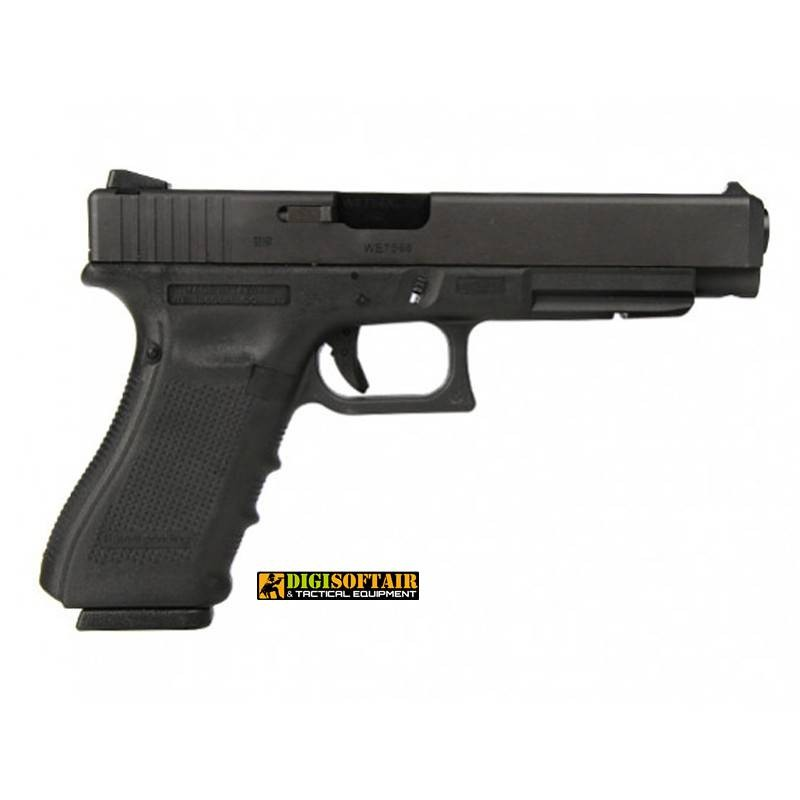 copy of WE GAS BLOWBACK PISTOL glock G18C GEN 4 Tan and black