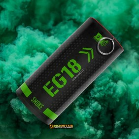 Enola Gaye Green EG18 smoke granade