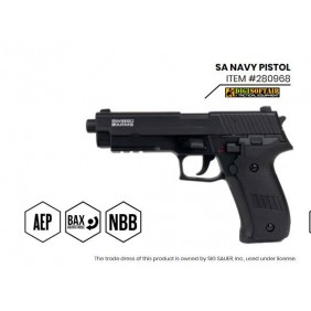 copy of Swiss Arms Navy Pistol with lipo and mosfet 280969