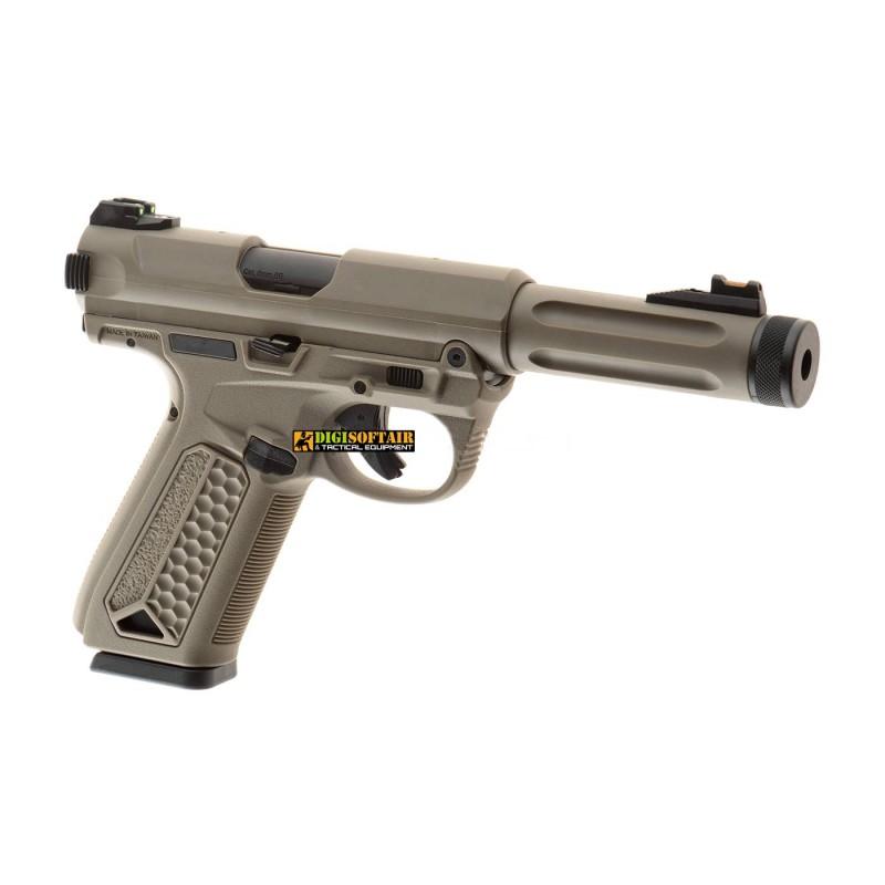 Action Army AAP01 ASSASSIN GBB Pistol FDE