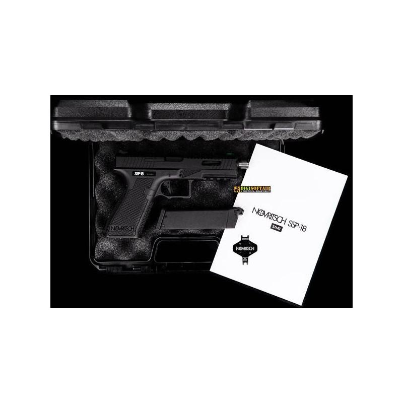Novritsch SSP18 Green Gas Blowback Pistol