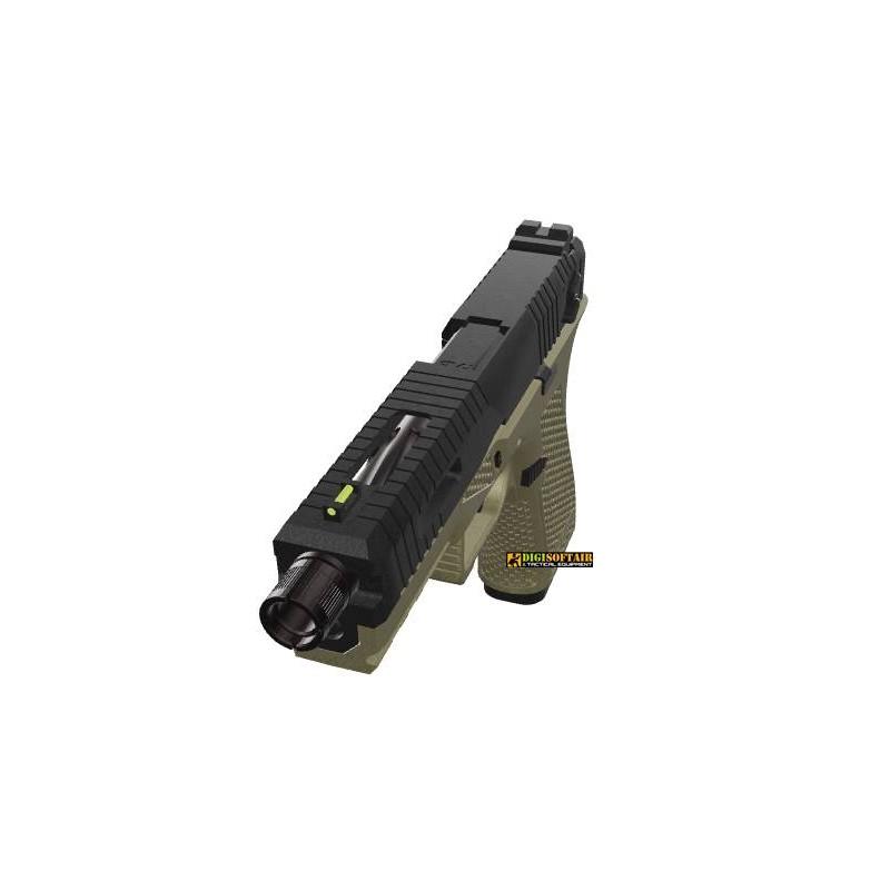 Novritsch SSP18 Tan Gas Blowback Pistol