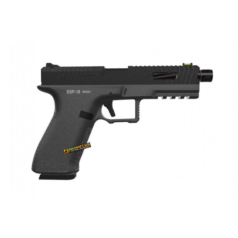 Novritsch SSP18 Grey Gas Blowback Pistol