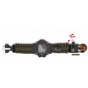 Green Watch with survival set 33889-VE