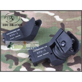 Dueck Defense RTS Sight set black