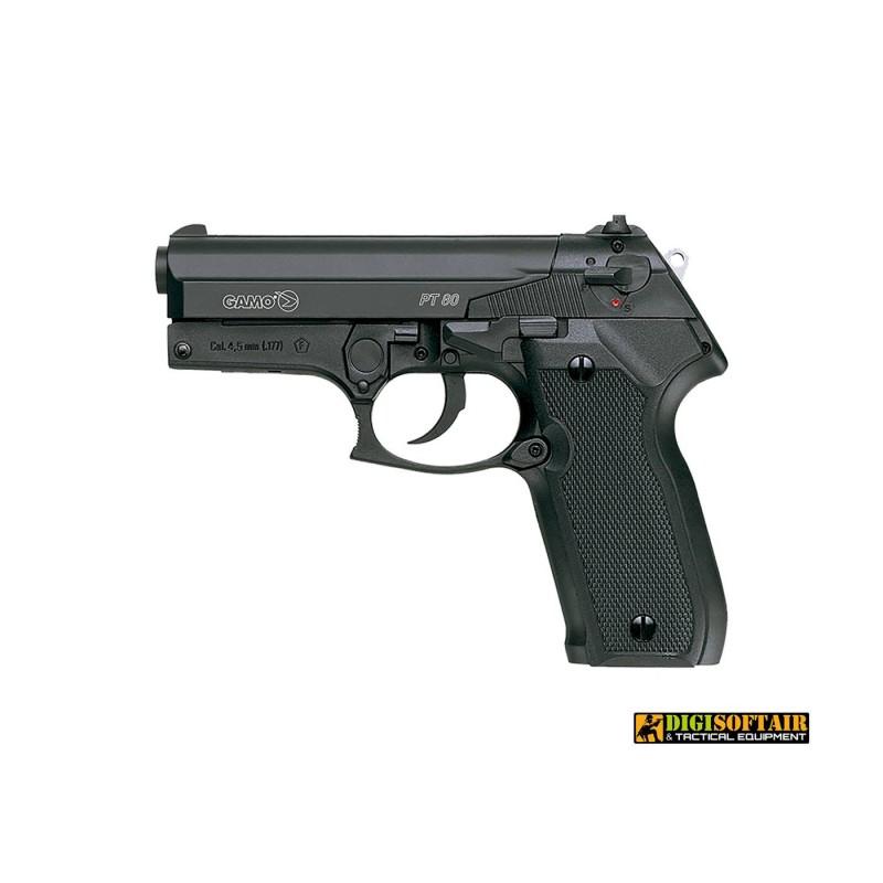 GAMO Air Pistol Co2 4.5mm PT 80 IAG21