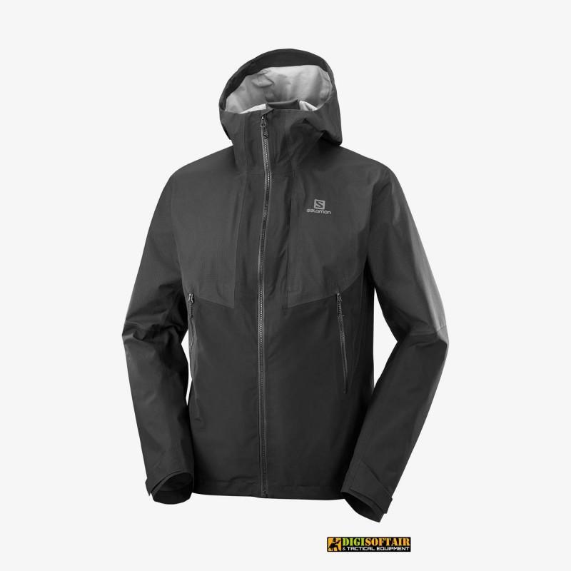 Salomon Outline Gore-Tex Hybrid Jacket Black LC1598000