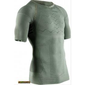 X Bionic Energizer 4.0 Combat Shirt Short Sleeve Olive Green