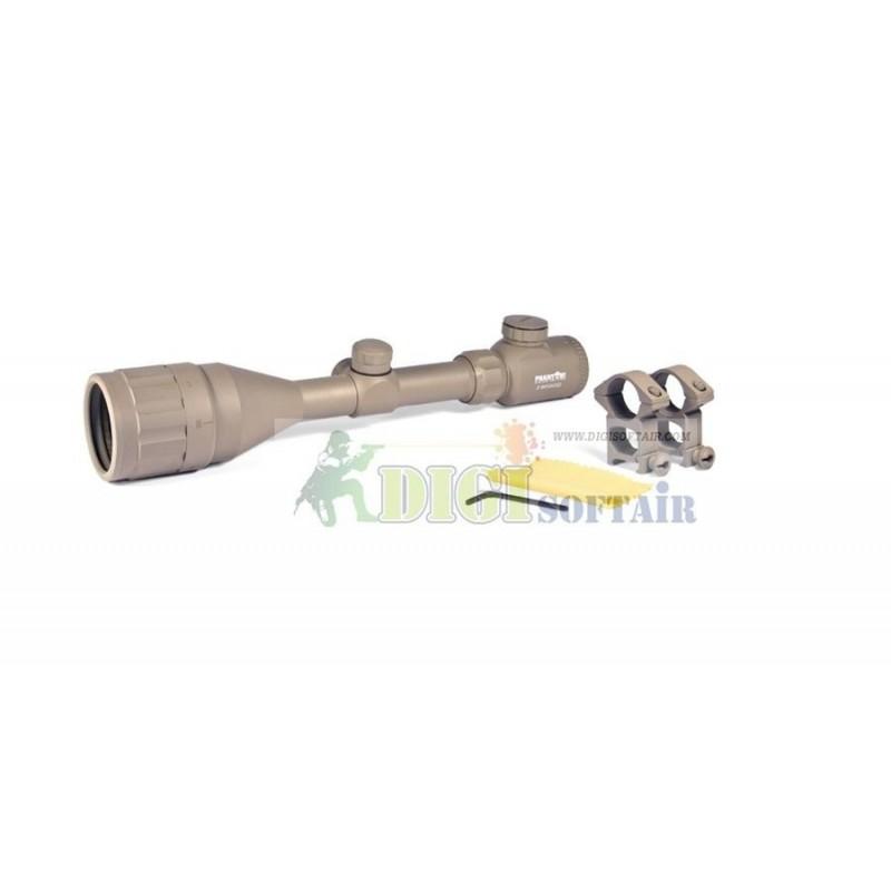 PHANTOM - Riflescope 3-9X50 15 yds-8 Illuminated Reticle (Desert Color)