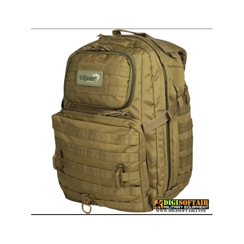 Zaino RANGER PACK Coyote brown 36,5L Viper Tactical
