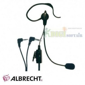EARPHONE AE30 ALBRECHT WITH ATTACK Midland