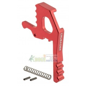 AMBIDEXTROUS TACTICAL CHARGING HANDLE LATCH RED crusader by VFC