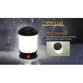 Fenix CL30R camping lantern 650 lumens