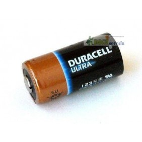 BATTERIA CR123 DURACELL ULTRA POWER