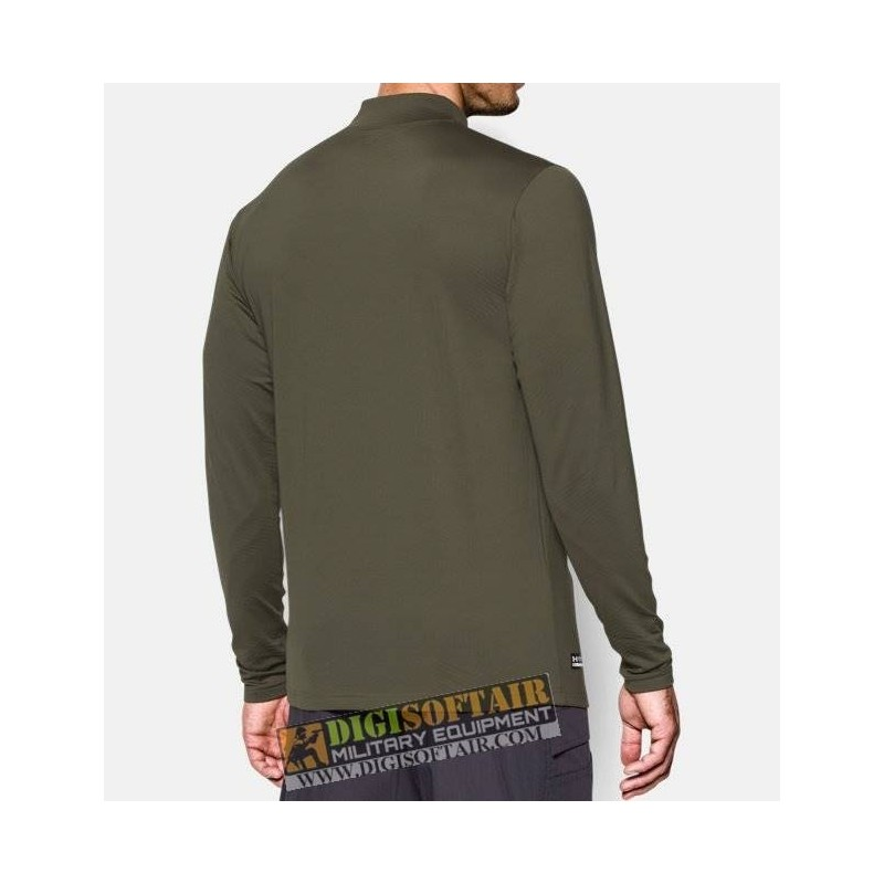 Under Armour ColdGear Infrared Tactical Fitted Mock Marine OD