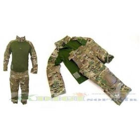 Uniforme Combat Multicam advance  Royal plus