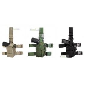 Vega holster Fondina cosciale PA280 per armi con torcia tattica e/o laser