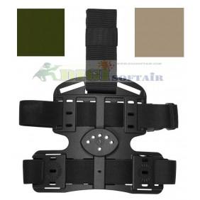 Vega holster Piattaforma cosciale CB multi uso in polimero stampato a iniezione