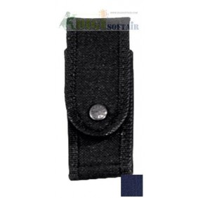 Vega holster Porta caricatore blu BIFILARE per pistola in cordura