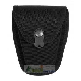 Vega holster porta manette chiuso in cordura nero