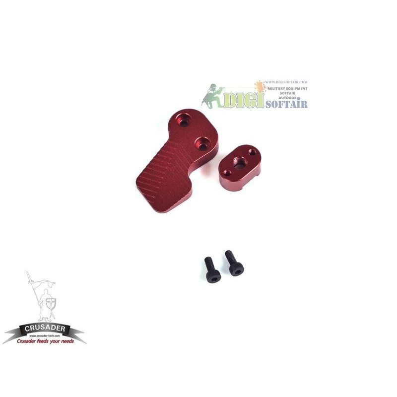 CRUSADER BY VFC M4 AEG MATCH MAGAZINE BUTTOM SET RED