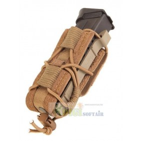 HSGI pistol Taco Pouch coyote brown belt mounted