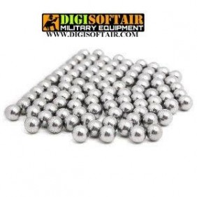 Biglie in acciaio per fionda 50 pezzi