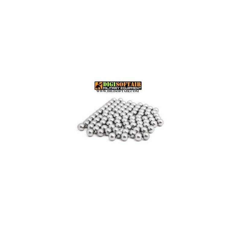 Biglie in acciaio per fionda 30 pezzi