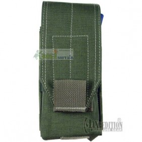 STACKED M4 M16 OD GREEN 30RND (2) POUCH